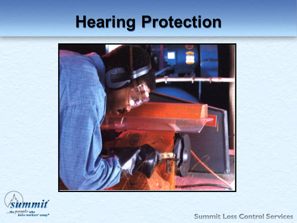 Click to edit Master text styles –Second level Third level –Fourth level »Fifth level Hearing Protection
