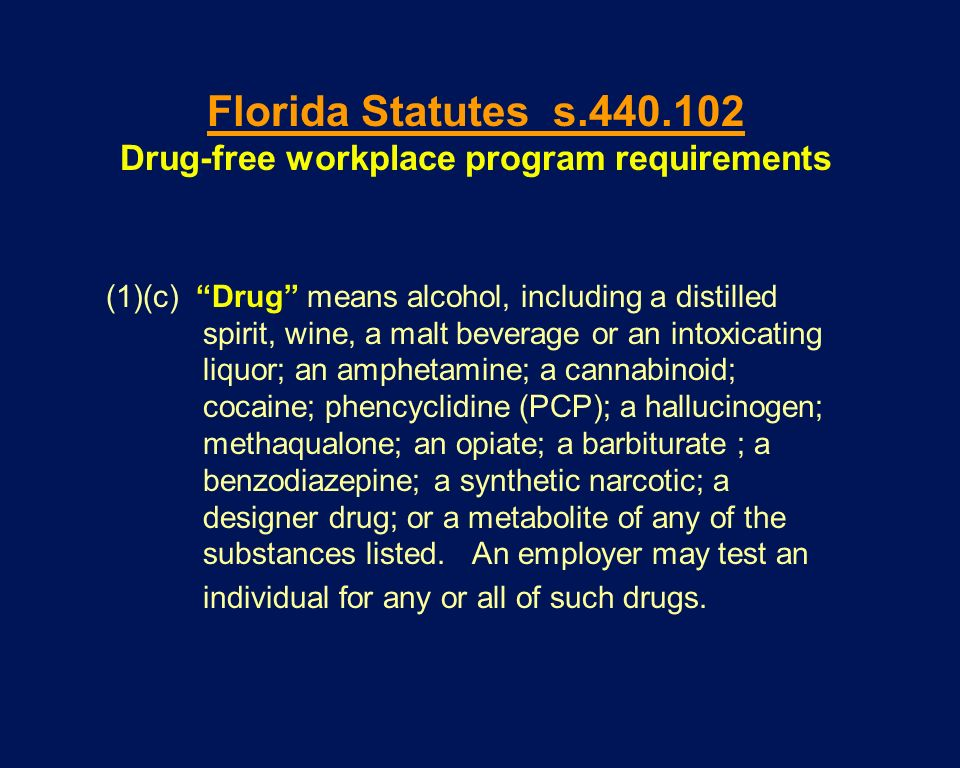 (1)(c) Drug means alcohol, including a distilled spirit, wine, a malt beverage or an intoxicating liquor; an amphetamine; a cannabinoid; cocaine; phen