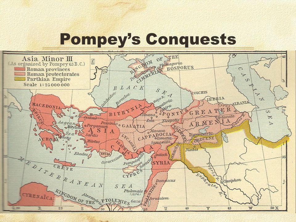 Pompeys Conquests