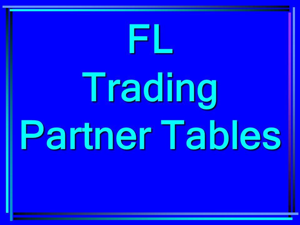 FL Trading Partner Tables