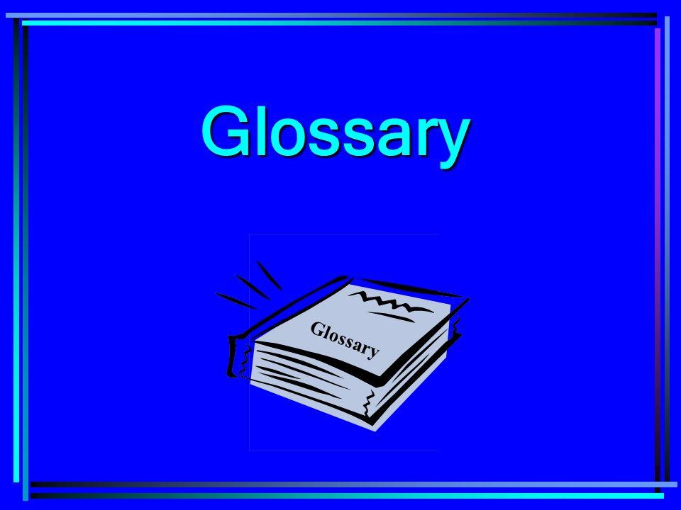 Glossary Glossary