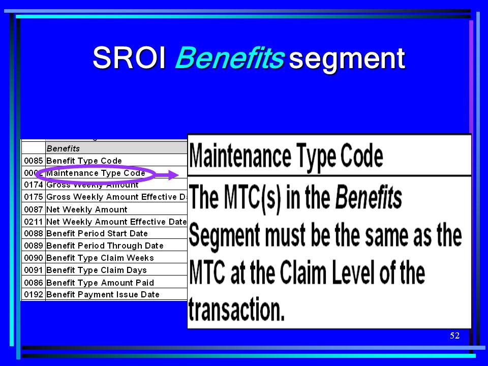 52 SROI Benefits segment
