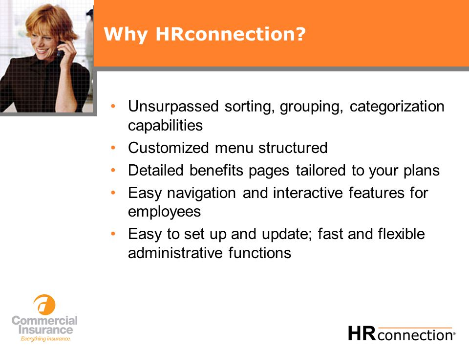 Why HRconnection.