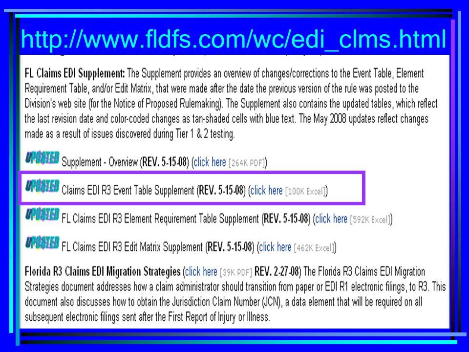 13 http://www.fldfs.com/wc/edi_clms.html