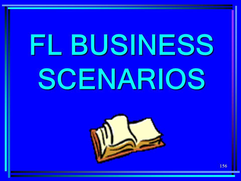 156 FL BUSINESS SCENARIOS