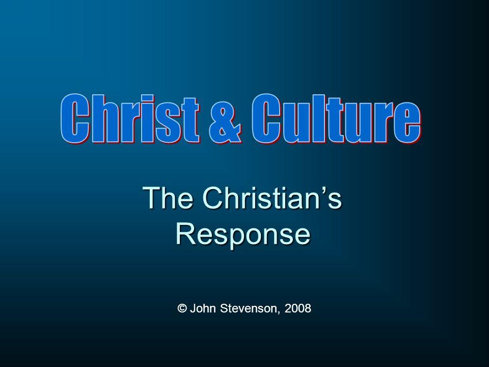 The Christians Response © John Stevenson, 2008
