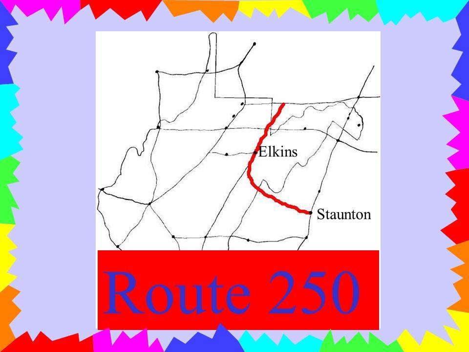 Lewisburg Elkins Route 219