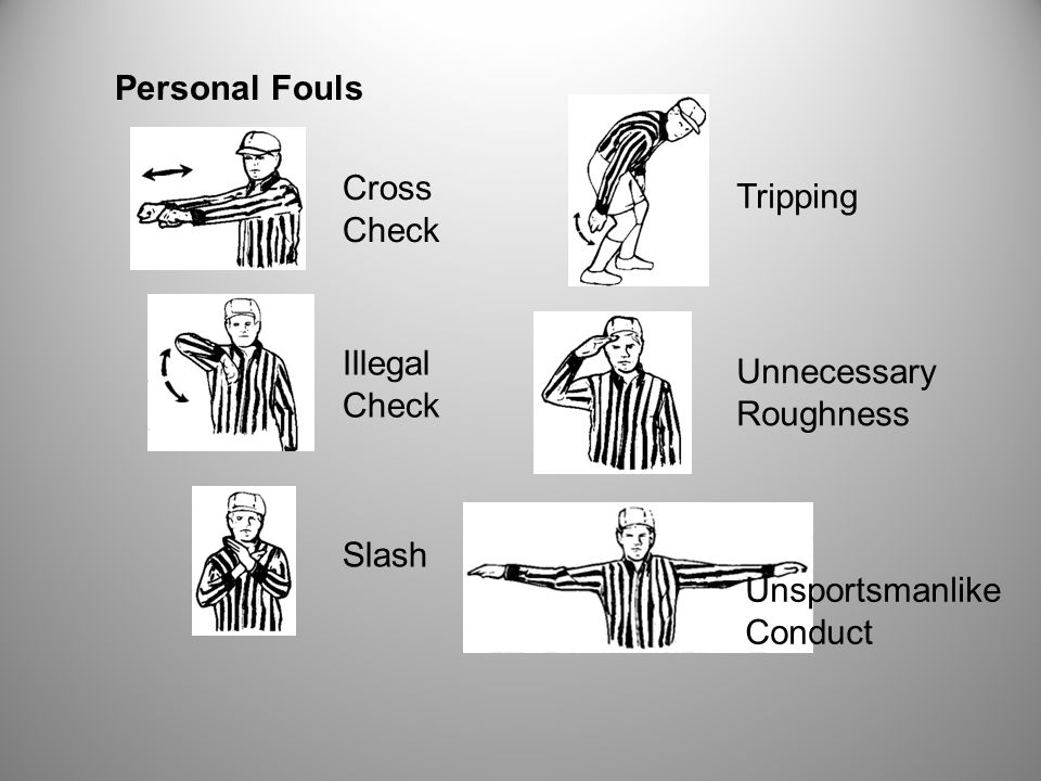 Non-releasable Personal Fouls Ejection Illegal Stick Illegal Gloves Illegal Pocket Locked Penalties Unsportsmanlike Conduct