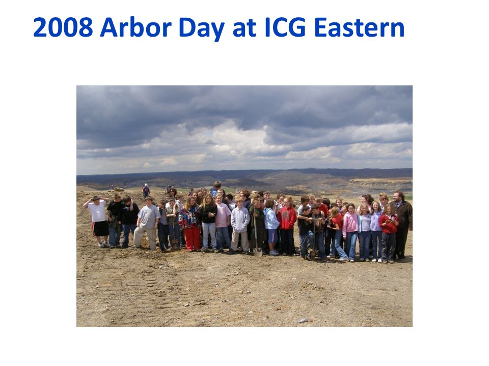 2008 Arbor Day at ICG Eastern