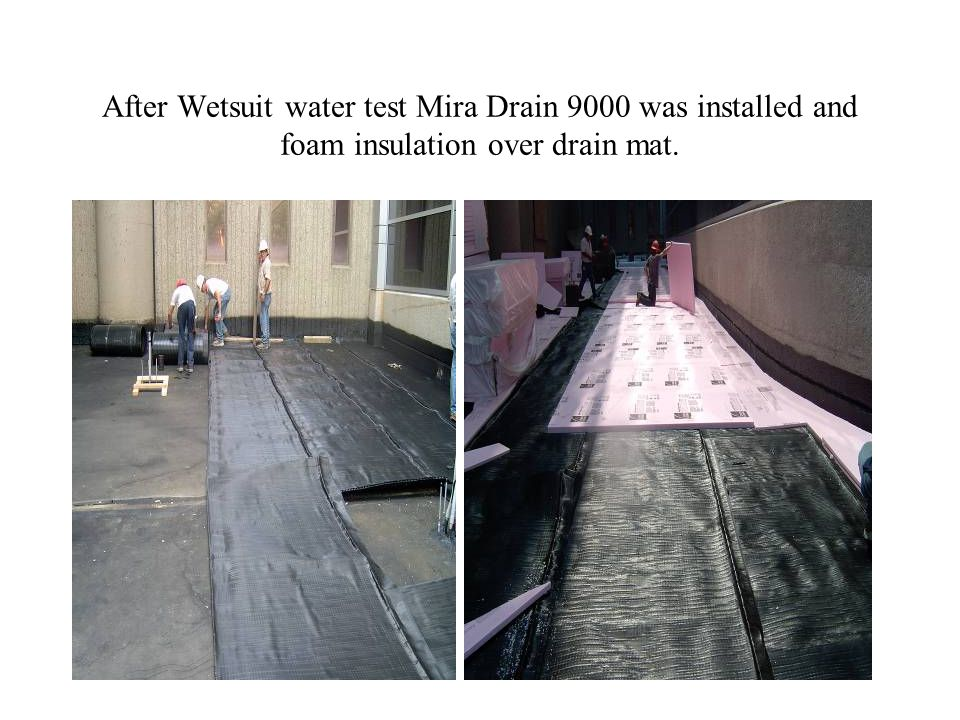 Wetsuit Roofing over alligator in built up roofing.