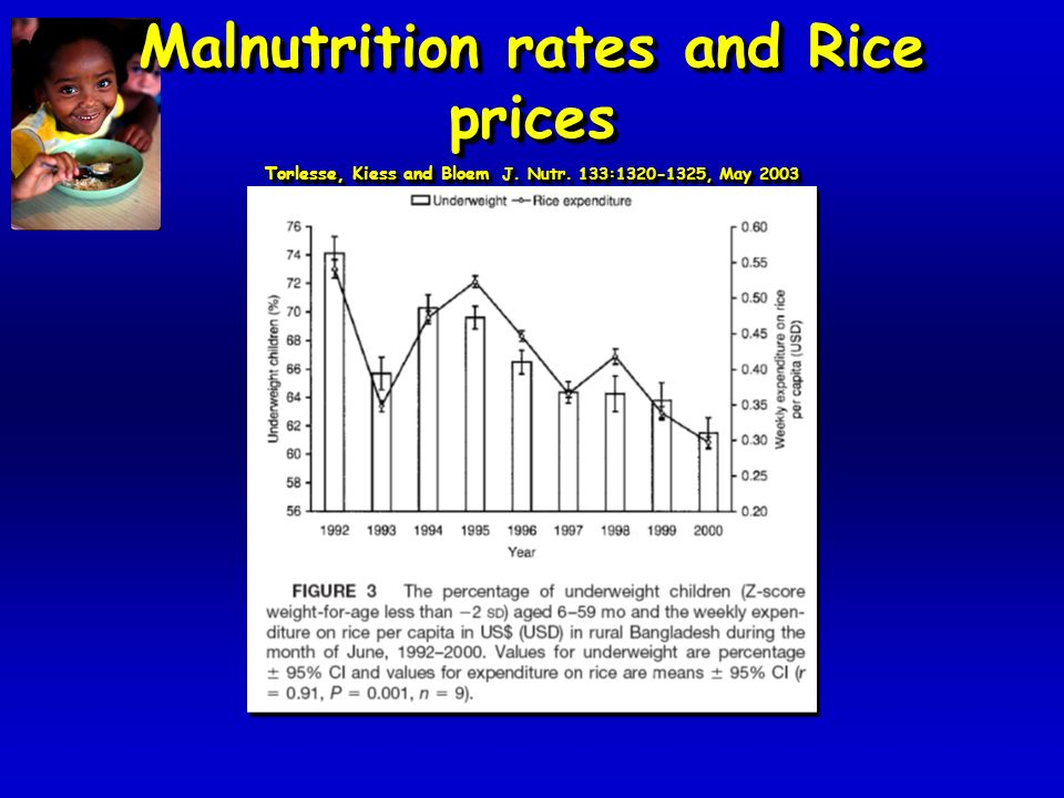 Non-rice food expenditure and malnutrition Torlesse, Kiess and Bloem J.