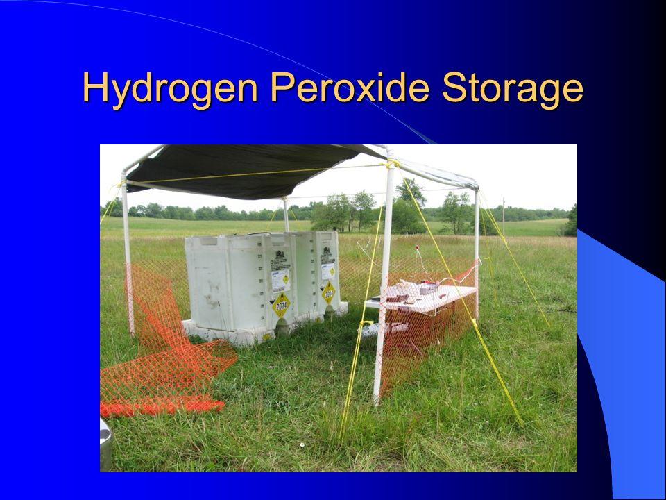 Hydrogen Peroxide Storage