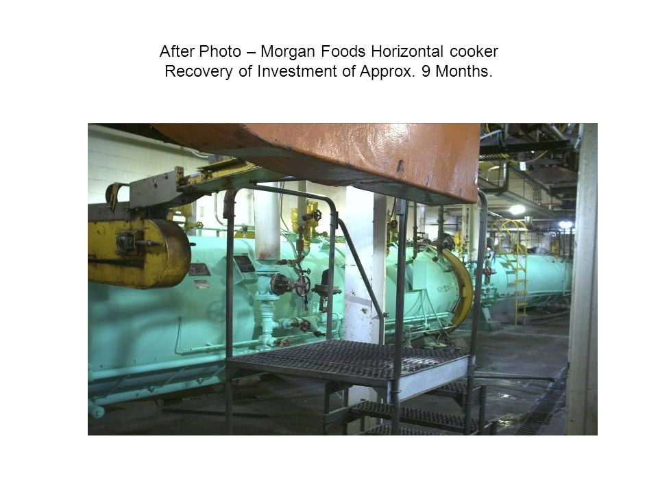 After Photo – Morgan Foods Horizontal cooker Recovery of Investment of Approx. 9 Months.