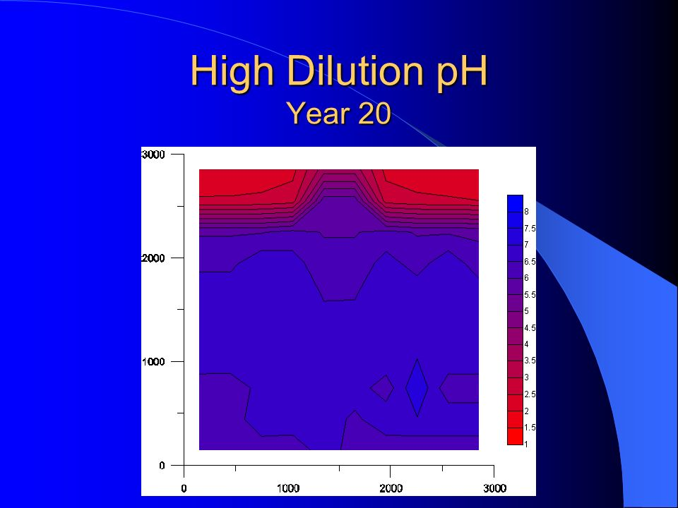High Dilution pH Year 20
