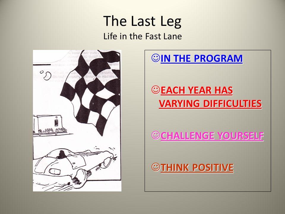DETOURS / GOALS Know warning signs Wishbones verses Backbones Be assertive Goals to Go