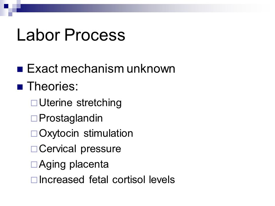 Nursing Management: Third Stage Assessment Placental separation; placenta and fetal membranes examination; perineal trauma; episiotomy; lacerations Interventions Instructing to push when separation apparent; giving oxytoxic if ordered; assisting woman to comfortable position; providing warmth; applying ice to perineum if episiotomy; explaining assessments to come; monitoring mothers physical status; recording birthing statistics; documenting birth in birth book