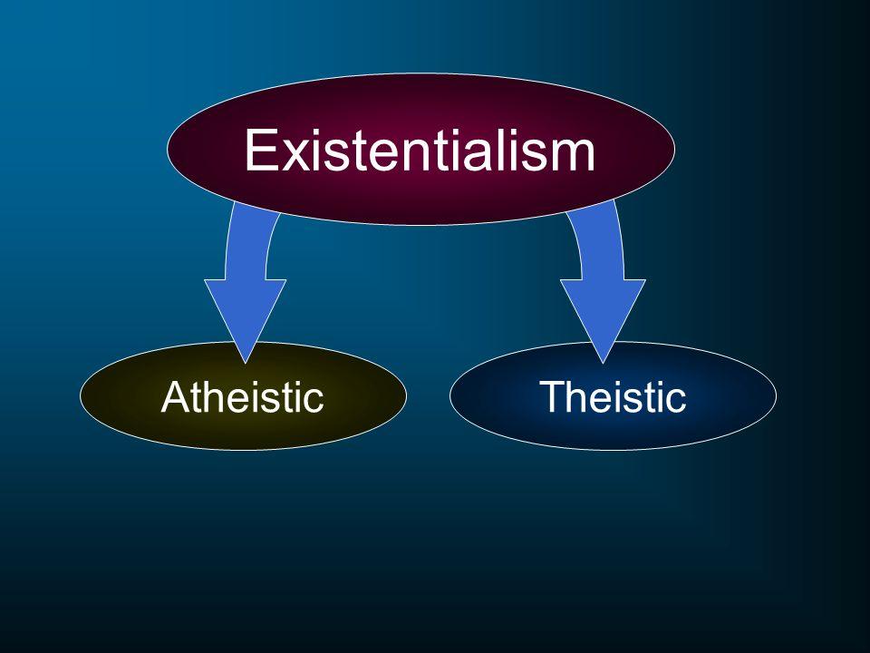 AtheisticTheistic Existentialism