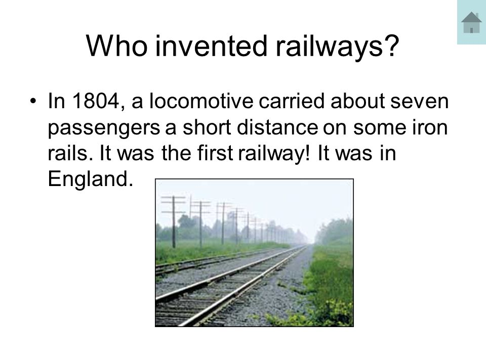 What happened to the first steam locomotive.