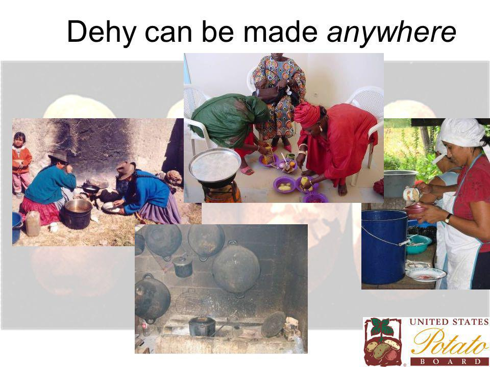 Dehy can be made anywhere