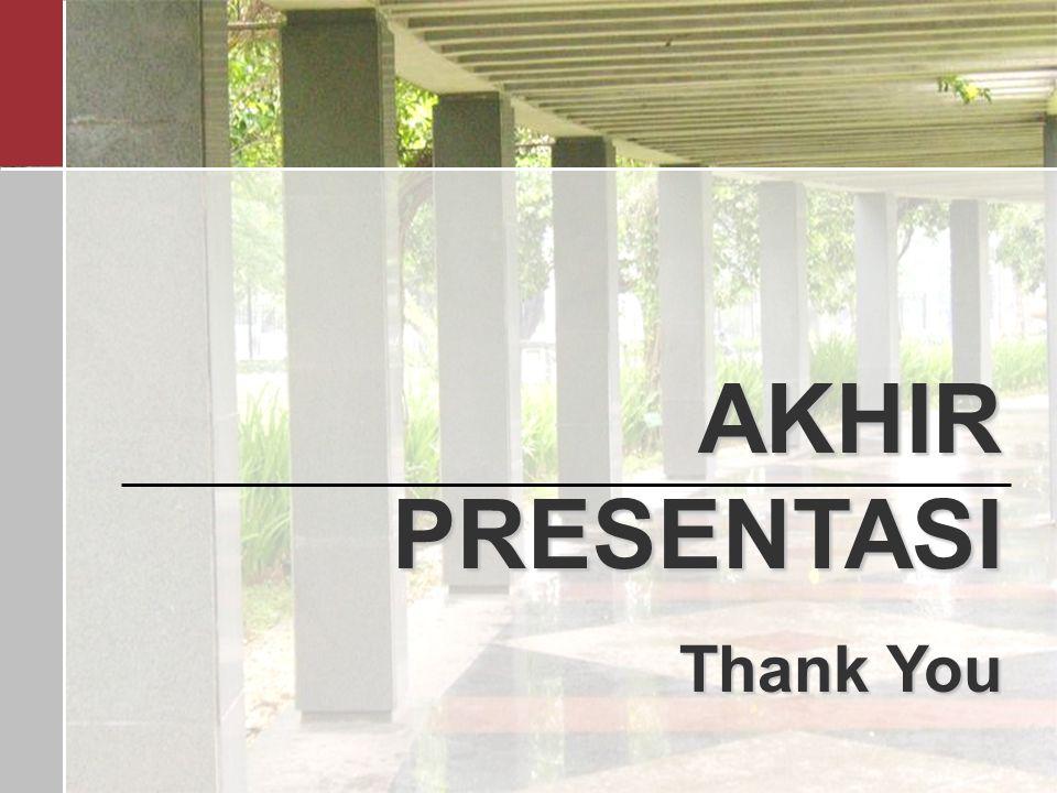 19 AKHIR PRESENTASI Thank You