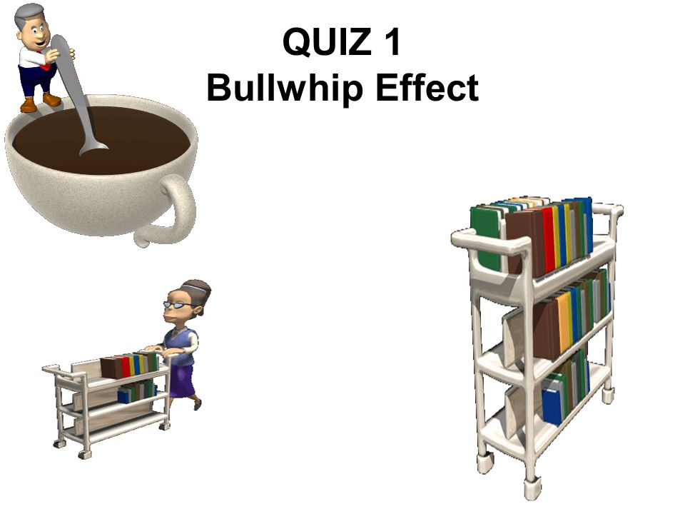 QUIZ 1 Bullwhip Effect