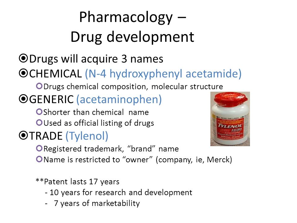 Pharmacodynamics Drug-Receptor Interaction – Drug binds to specific receptor Alters cell function Produces desired effect Can bind completely or partially – Agonists Drugs that bind and produce desired effect – example, Morphine – Antagonist Drugs that block agonist effect at binding site – example, Narcan, reverses effect of narcotic – Example, Toprol, beta-blocker, lowers HR