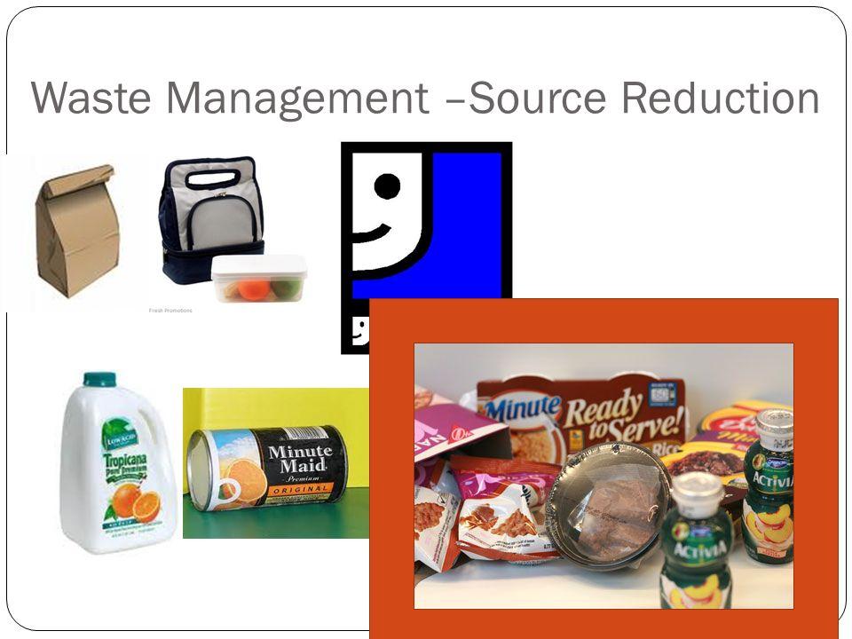 Waste Management –Source Reduction