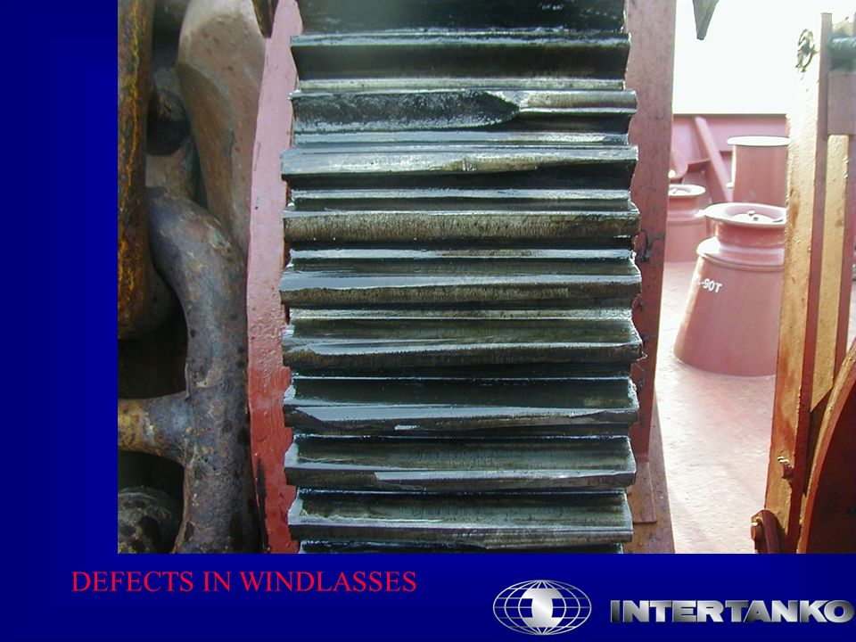DEFECTS IN WINDLASSES