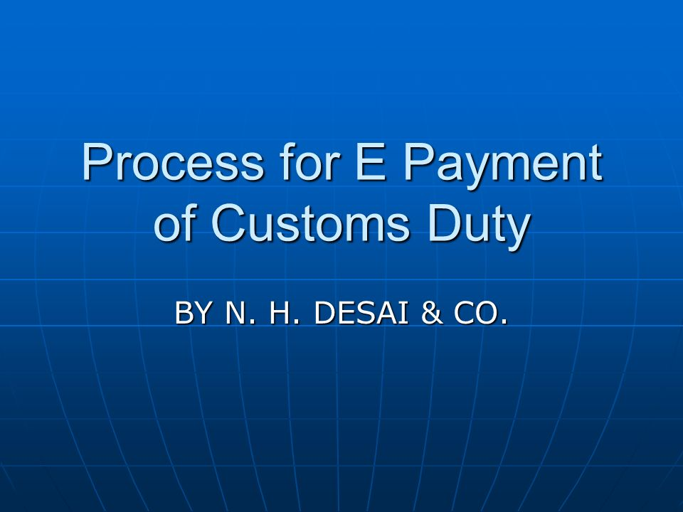 Step 11- Page displays all your Bills of Entry pending duty payment.