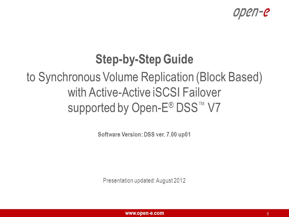www.open-e.com 42 After performing this step, the status for local node resources should state active on node-b ( remote node ) and the Synchronization status should state synced.