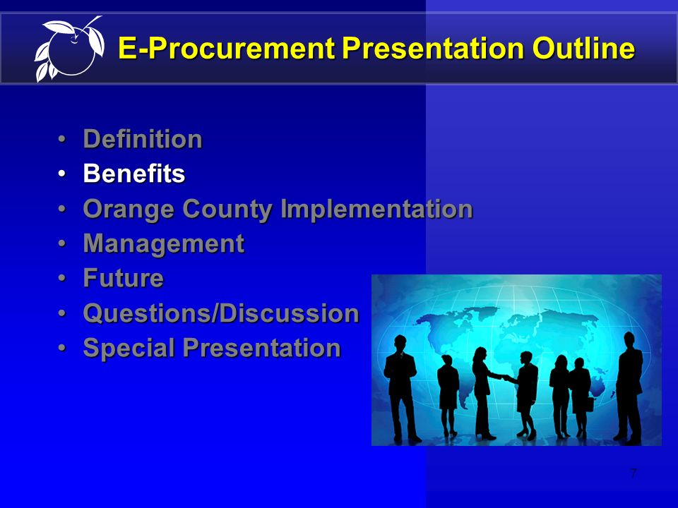 6 E-Procurement Definition Business Consumer Example (Process Clarification) Index of Commodities