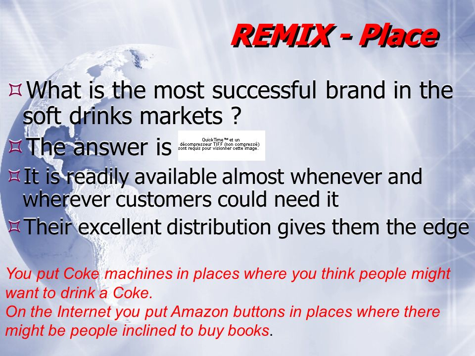What is the most successful brand in the soft drinks markets .