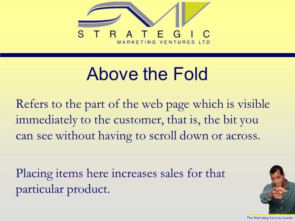 Viral Marketing This simply means customers telling their friends about your products or services. Including options on your web page to send this pag
