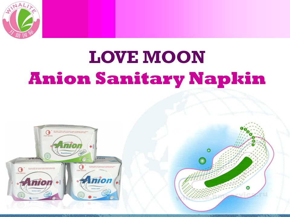 World Health Organization (WHO) studies show 62% of vaginal problems & issues caused by unsealed un-sterilized unsanitary feminine napkins