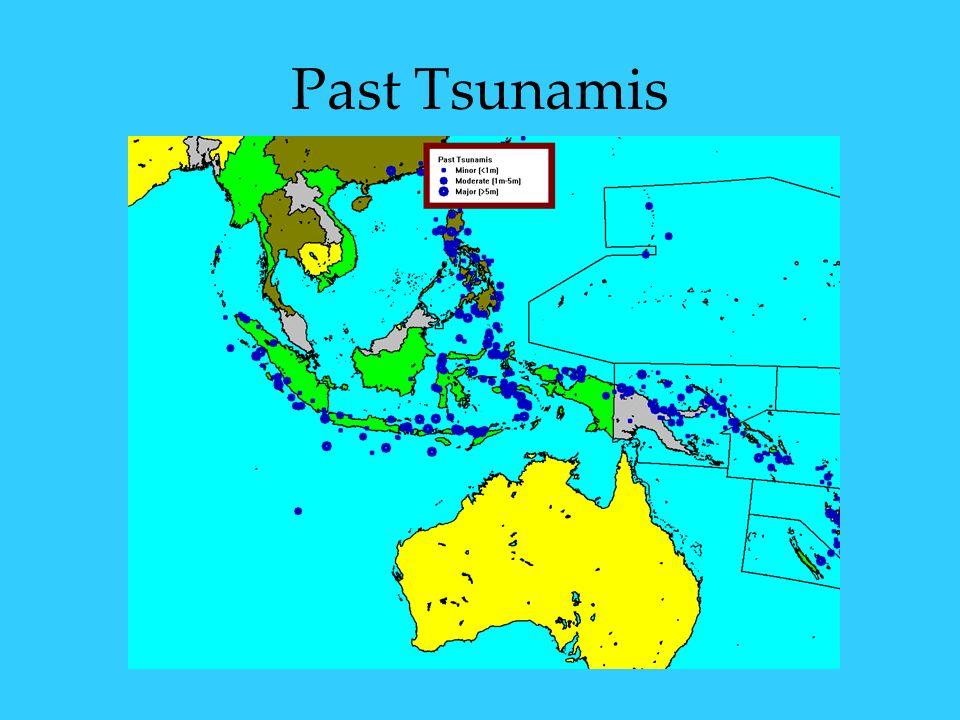 Past Tsunamis