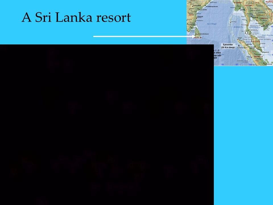 A Sri Lanka resort