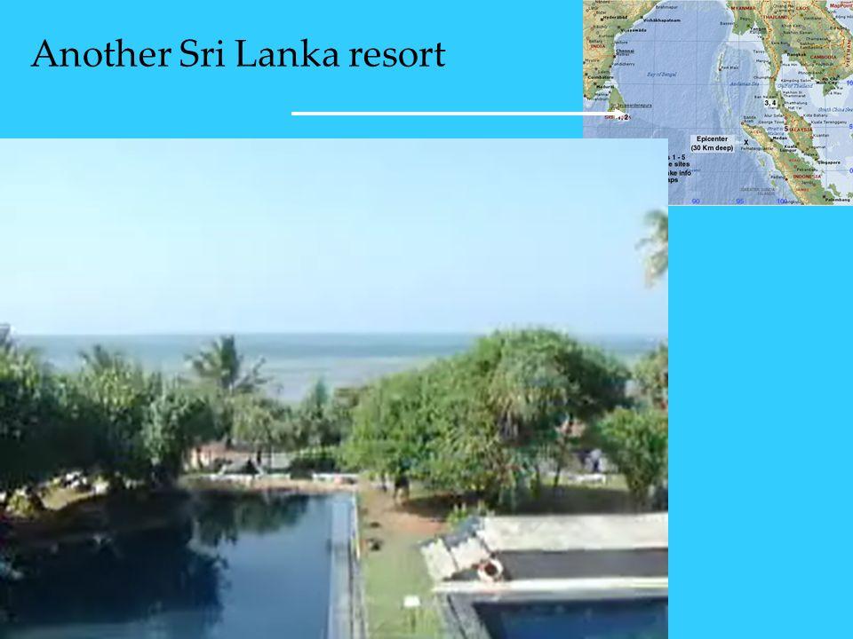 Another Sri Lanka resort