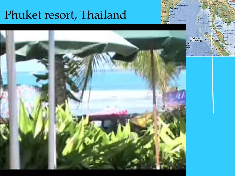Phuket resort, Thailand