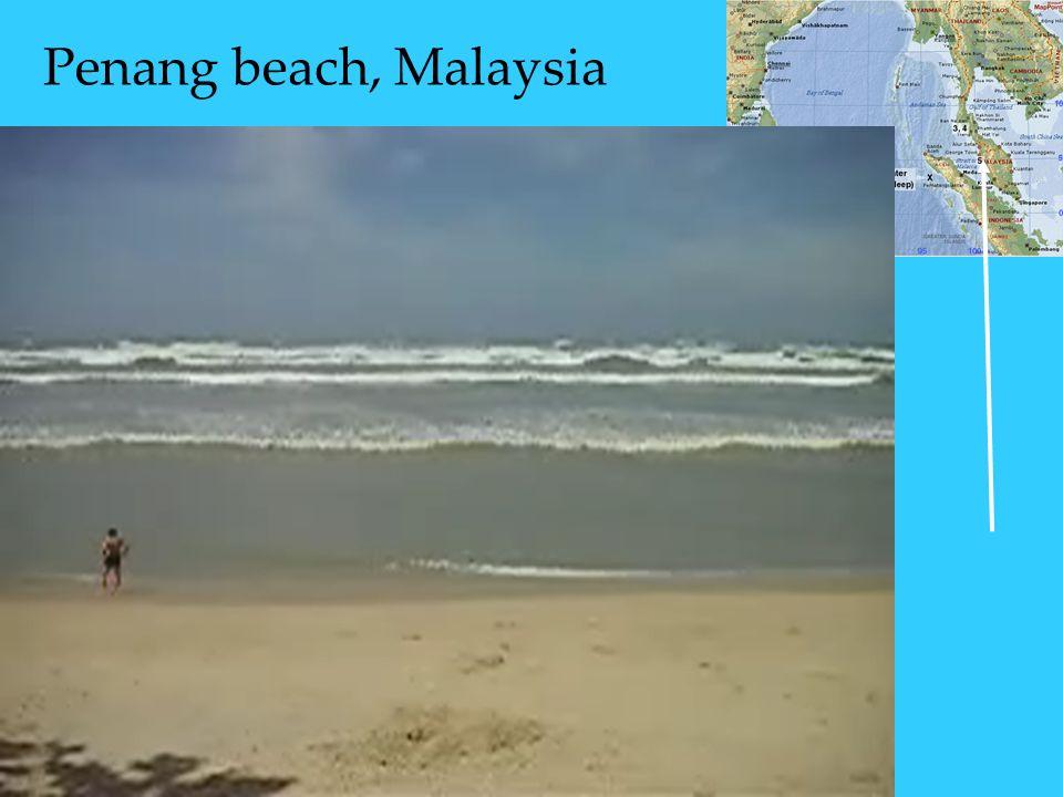 Penang beach, Malaysia