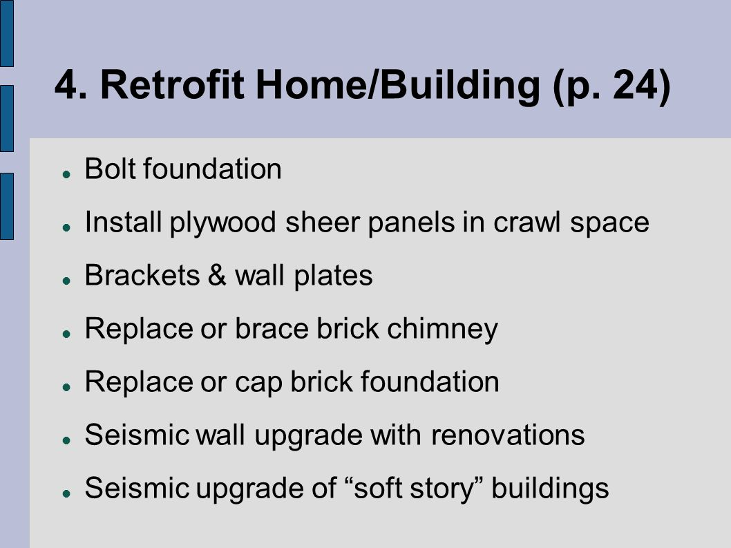 4. Retrofit Home/Building (p.
