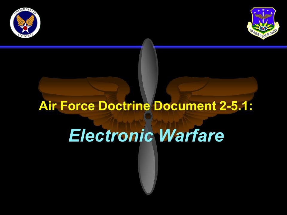 AFDD 2-5.1 Definition Electronic Warfare: EW is any military action involving the use of electromagnetic and directed energy to control the electromagnetic spectrum or to attack an enemy.