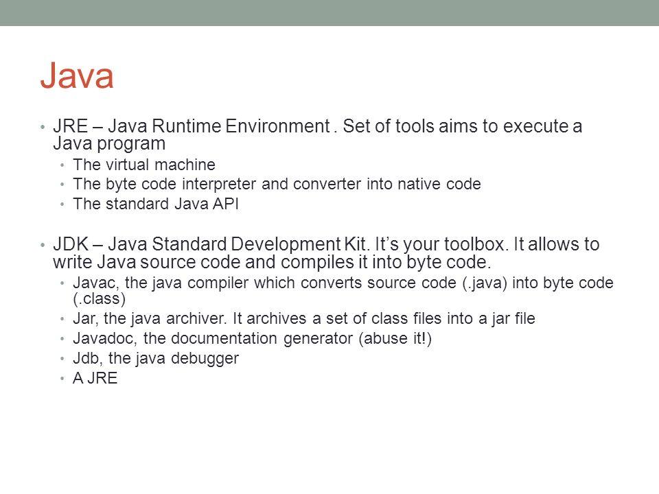 Java 2 SE Java Standard Edition.Contains the basics API.