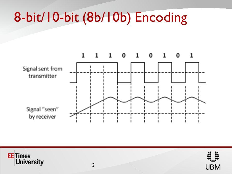 8-bit/10-bit (8b/10b) Encoding 6