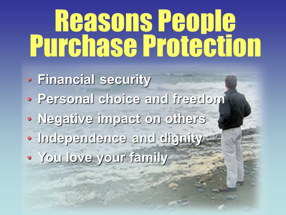 Financial security Financial security Personal choice and freedom Personal choice and freedom Negative impact on others Negative impact on others Inde
