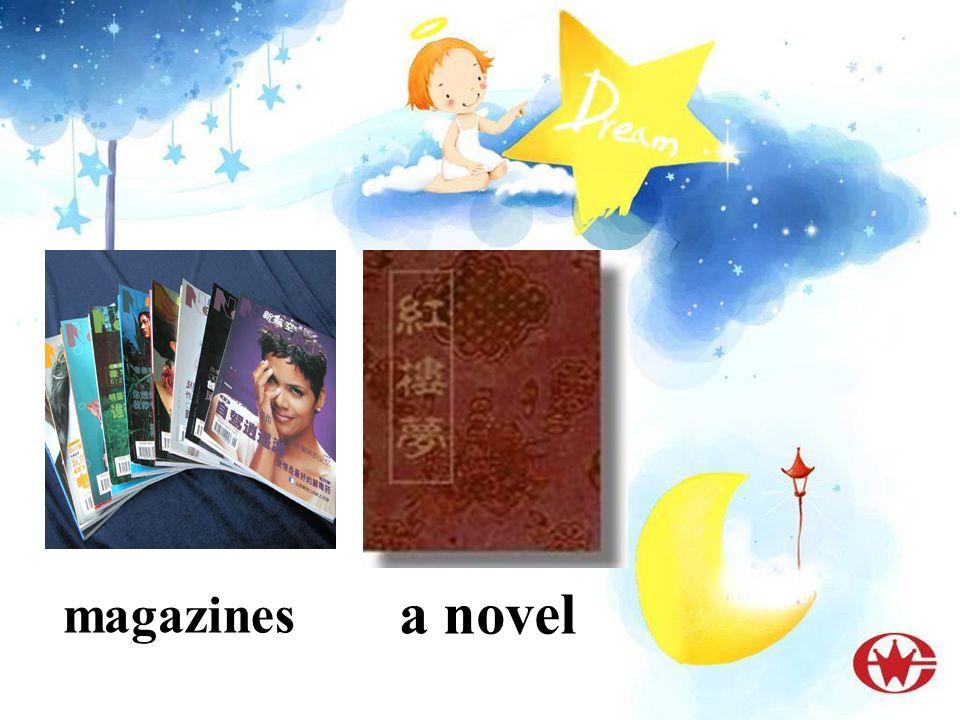 a novel magazines