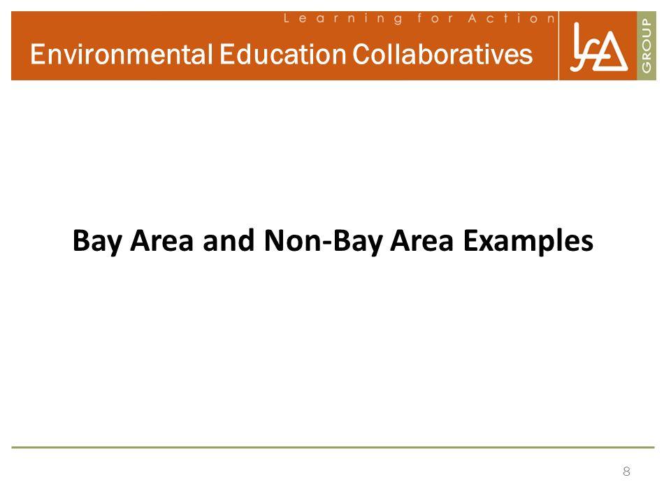 8 Environmental Education Collaboratives Bay Area and Non-Bay Area Examples *NSW Council of Environmental Education Survey, 2003