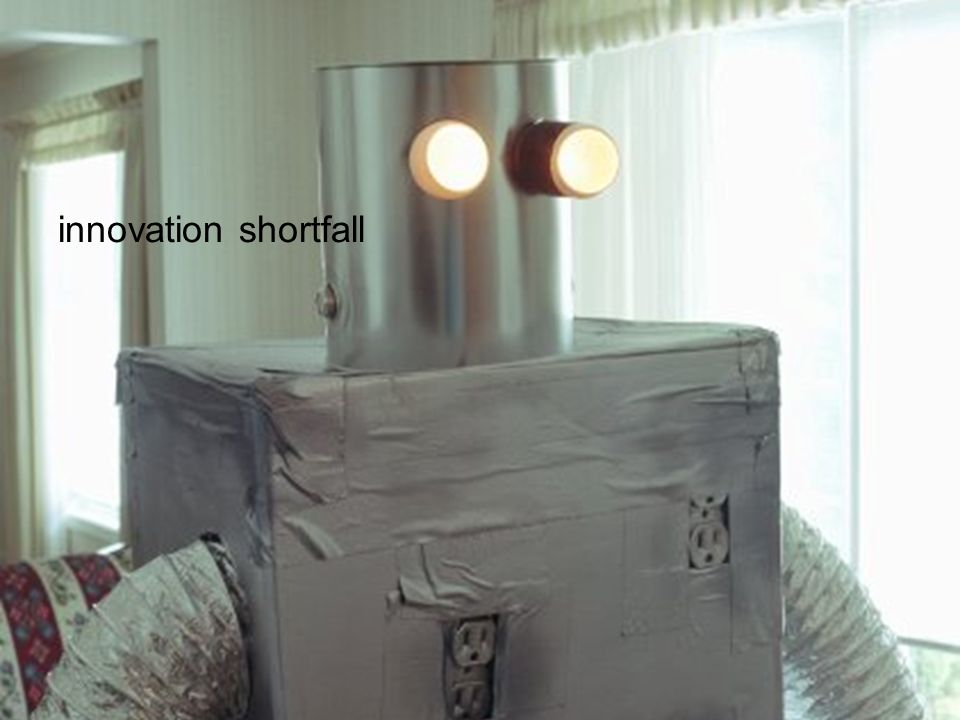 innovation shortfall