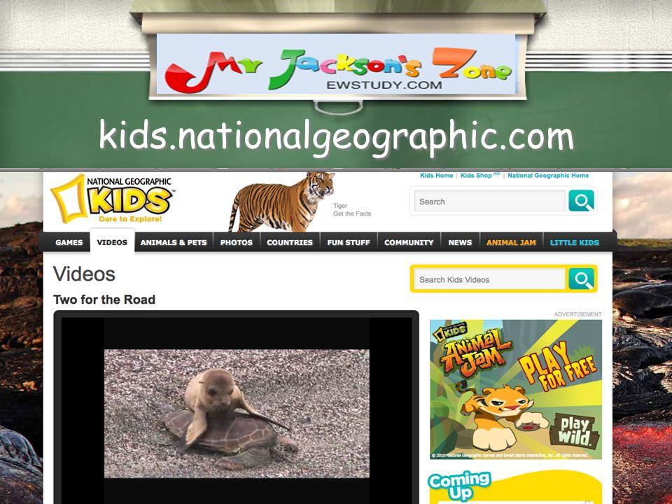 kids.nationalgeographic.com