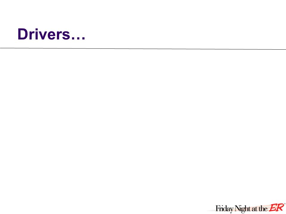 Drivers…