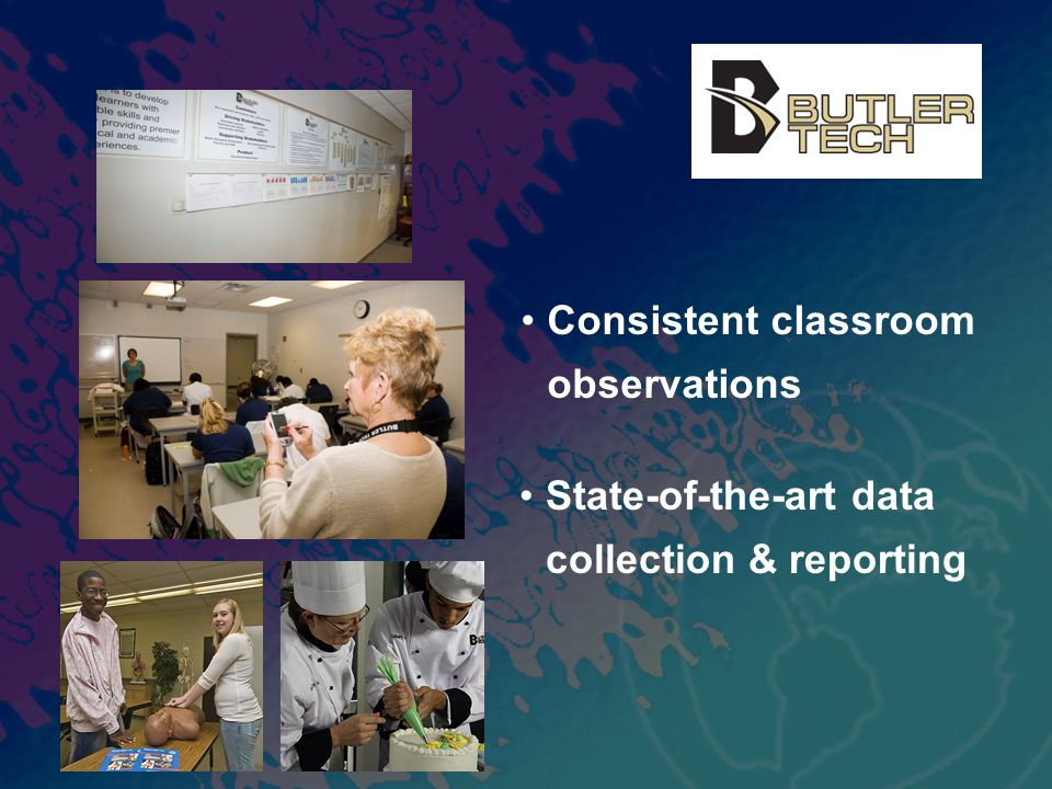 Consistent classroom observations State-of-the-art data collection & reporting